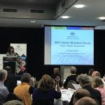 Image: ARC Executive Director, Dr Fiona Cameron, giving a presentation at the Forum.