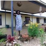 Image: Dawn Lalara, Angurugu, Groote Eylandt, NT. Image courtesy: AG NTG, Remote Housing NT eNews, June 2012