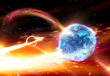 Scientists puzzle over the mysterious astrophysical object: have they discovered the heaviest neutron star or the lightest black hole ever observed?' CREDIT: Carl Knox, ARC Centre of Excellence for Gravitational Wave Discovery (OzGrav)